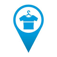 Icono localizacion simbolo camiseta
