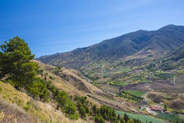 Mountains en Merida. Andes. Venezuela.