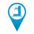 Icono localizacion simbolo fuente