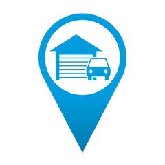 Icono localizacion simbolo garaje