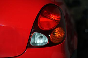 Rücklicht eines Autos
