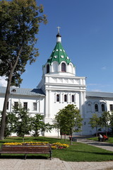 view of the Ipatiev Monastery in spring