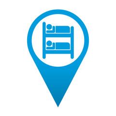 Icono localizacion simbolo albergue