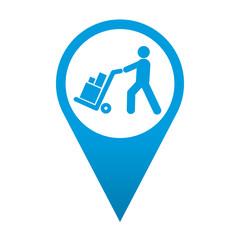 Icono localizacion simbolo logistica