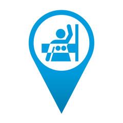 Icono localizacion simbolo mamografia