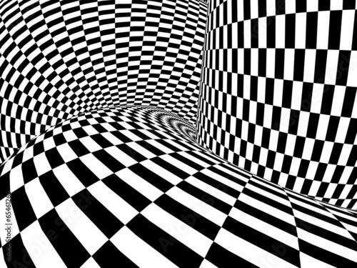 Fototapeta Abstract illusion