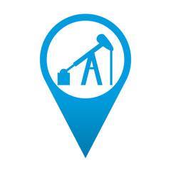 Icono localizacion simbolo pozo petrolifero