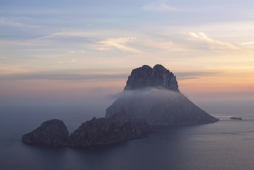 Islet of Es Vedra in Ibiza (Spain)