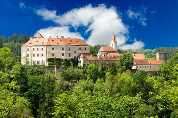 Bitov castle, South Moravia, Czech Republic