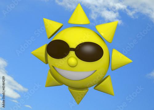 Happy Sun - 3D