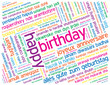 """HAPPY BIRTHDAY"" Greeting Card (congratulations)"