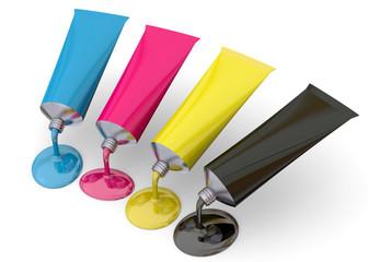 Color Print Concept - 3D