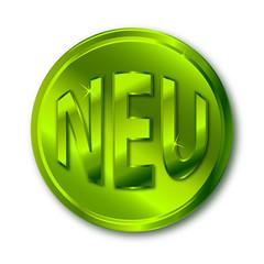NEU Button grün