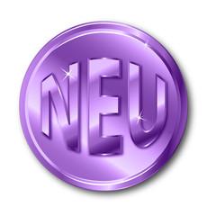 NEU Button violett