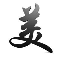 Beauty in Chinese word