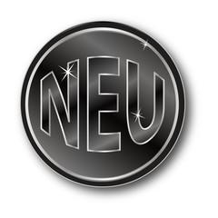 NEU Button schwarz