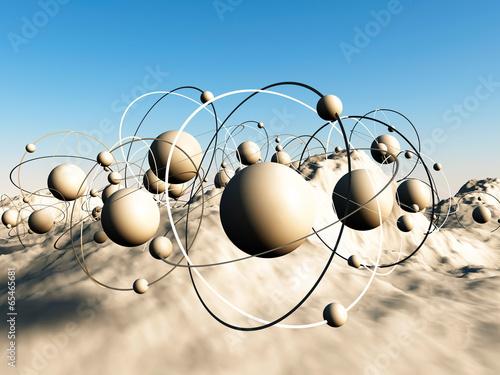 3D Molecule - 65465681