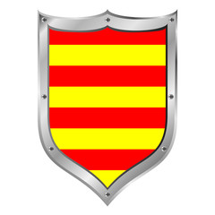 Catalonia flag button.