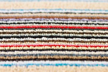 Multicolored carpet