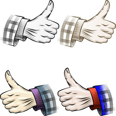 Thumb up set