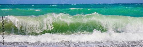 Foto op Plexiglas Water Морская волна