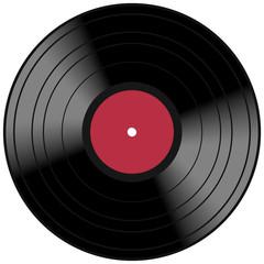 Vector Vinyl Lp Album Disc