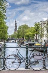 Western church in Amsterdam, Netherlands.