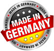 """Made in Germany"" Button Banner"