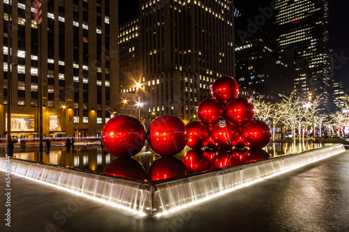 In de dag Artistiek mon. navidad nueva york