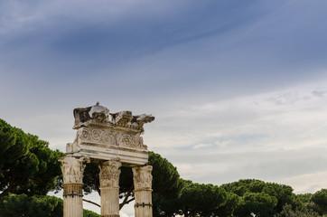 roman column, Rome, Italy