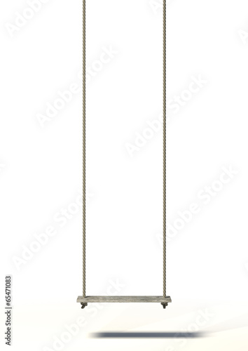 Rope Swing Isolated - 65471083
