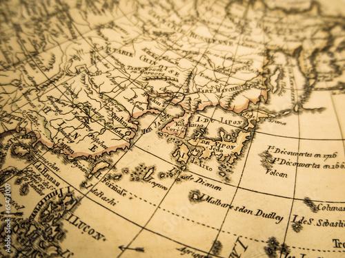 古地図 アジア