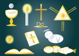Fototapety ikony,symbole,znaczki,