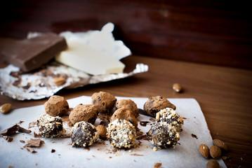 Photo of the sweet  Homemade truffle