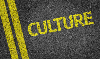Culture written on the road