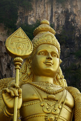 Statue of Murugan ,Batu caves.