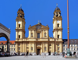 The Theatine Church in Munich, Germany