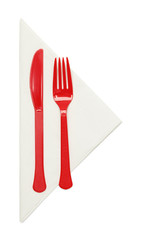 Red Silverware
