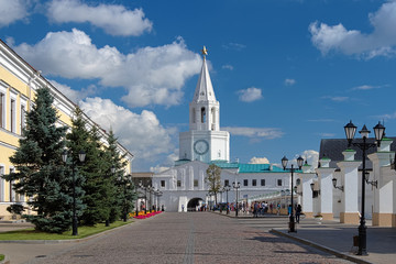 The Spasskaya Tower of the Kazan Kremlin
