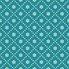 Vector seamless pattern Retro stylish texture
