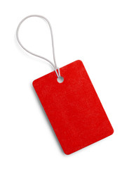 Small Red Tag