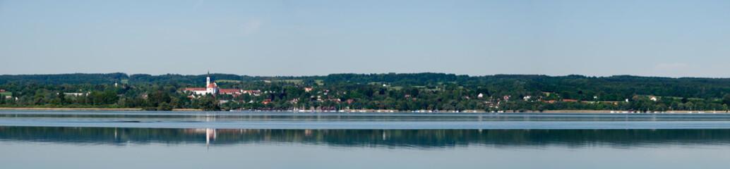 Panorama von Dießen am Ammersee