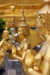 Statue tailandesi del guardiano del demone