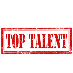 Top Talent-stamp