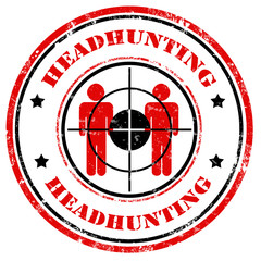 Headhunting-stamp