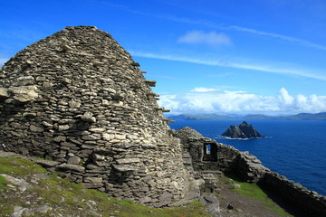Ireland Skellig Michael Little Skellig
