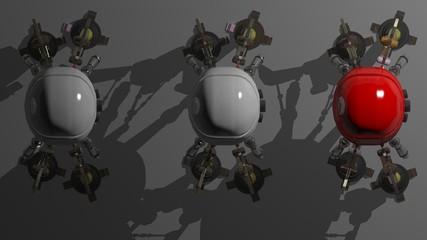 Robot's platoon