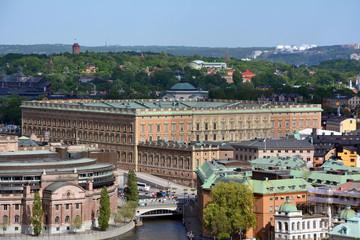 Stockholm, Schloss