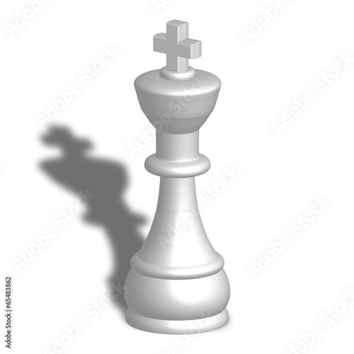 Re bianco scacchi