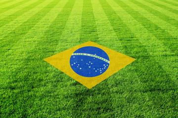 fussballfeld_brasilien_flagge